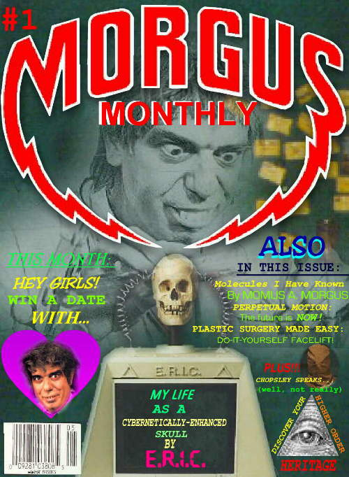Morgus Monthly - Issue #1