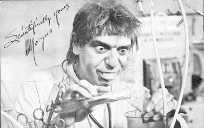Morgus in the lab - Detroit 1964